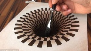 optical illusion drawings defd image a