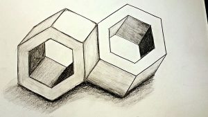 optical illusions drawings thumbnail yt impossible bolts px