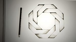 optical illusions drawings thumbnail yt impossible octagon