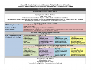 order of service template conference schedule template