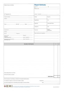 order sheet template rmi web
