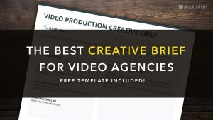 order sheet template the best creative brief template for video agencies free creative brief template download studiobinder@ x
