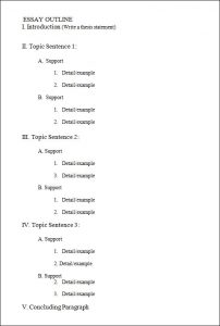 outline template word blank outline template