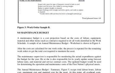 painting estimate template maintenance management