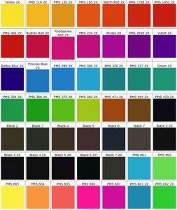 pantone color chart pdf pmschart