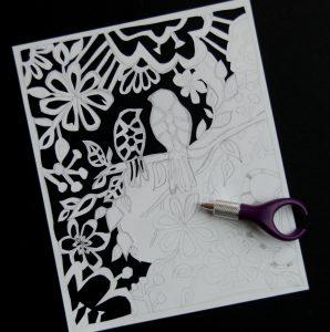 paper cuts patterns dsc