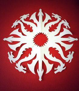 paper cuts patterns gtflake