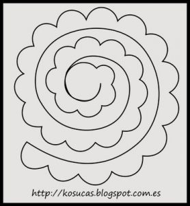 paper flower template pdf abafdebffea felt flowers patterns rose patterns