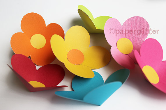paper flower template pdf