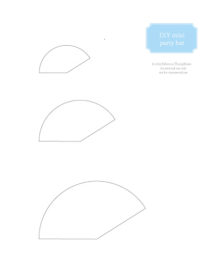paper hat template