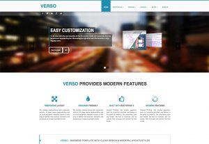 parallax website template temp