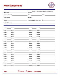 parental consent form template asset new equipment form