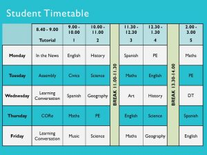 partnership agreement example timetable example