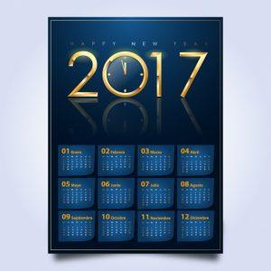 party plan template calendar design