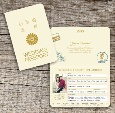 passport invitation template
