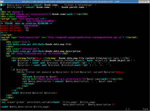 password log template ezvim syntax highlighting of ez template