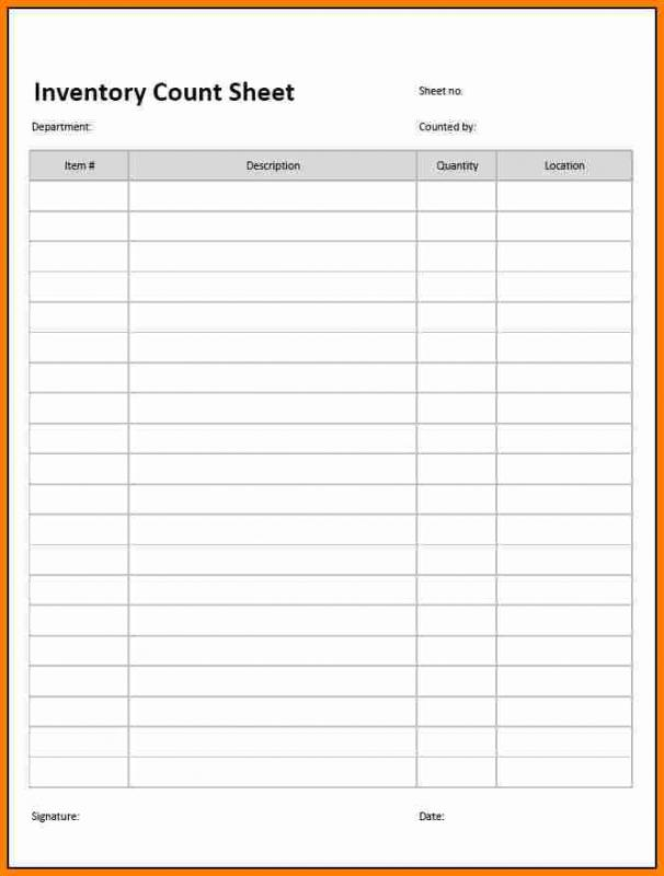 password template for excel