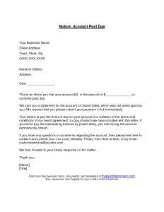 past due invoice letter past due letter template broadbandauthority letter for past due invoice