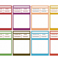 pathfinder printable character sheet blank spell cards colors