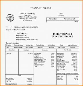 pay stub template free pay stub template free paystub