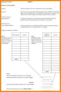 pay stub template pdf balance checkbook worksheet exhibit a