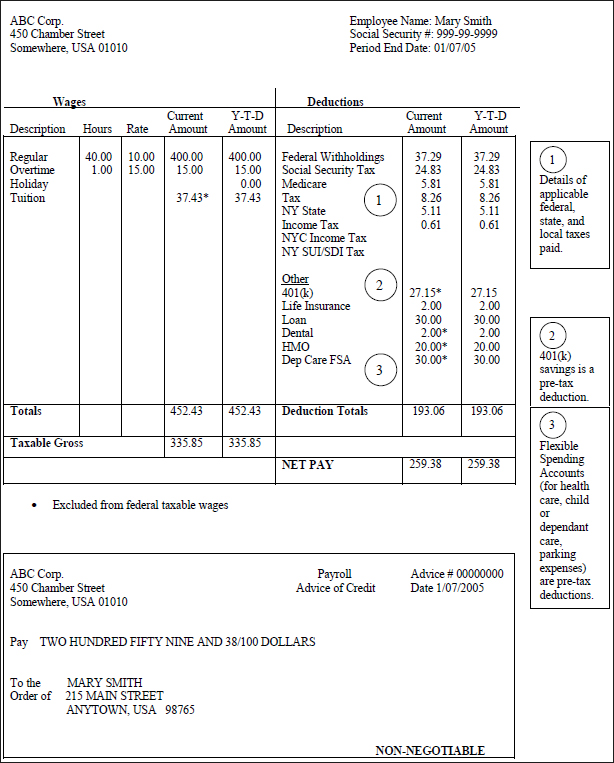 Pay stub template word document template business for Paycheck stub template in microsoft word