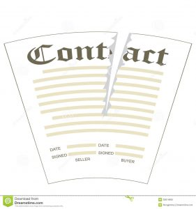 payment agreement form torn contract illustration paper form