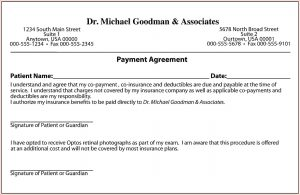 payment agreement letter between two parties payment agreement template