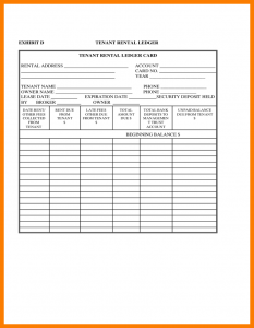 payment plan agreement template rental ledger template tenant rental ledger l