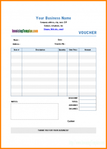 payment plan contract hotel voucher template paymentvouchertemplate printed