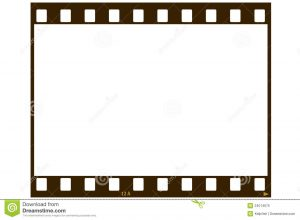 payment plan template blank film strip