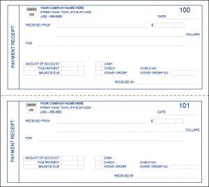 payment receipt template payment receipt form