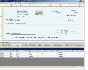 payroll check template b ezcheckprintingmainpage