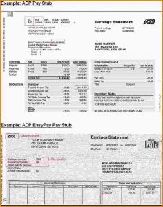 payroll stub template adp online paystub adp easypay paystub