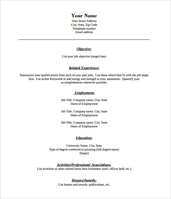 Awesome Pdf Resume Template And Pdf Resume Templates