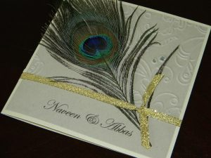 peacock wedding invitations dscn