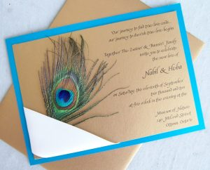 peacock wedding invitations il fullxfull