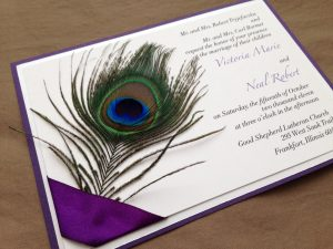 peacock wedding invitations il fullxfull hws