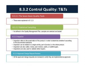 performance improvement plan sample project quality management