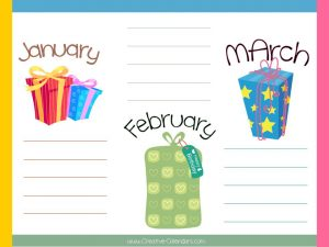 perpetual calendar template birthday calendars