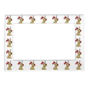 perpetual calendar template cute christmas reindeer dog with antlers magnetic frame rddfbfacaaf fumar byvr