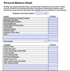 personal balance sheet best photos of balance sheet template pdf simple balance sheet personal balance sheet template