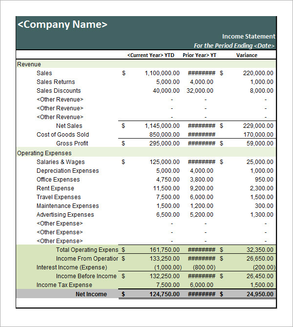 Personal Balance Sheet Template Template Business