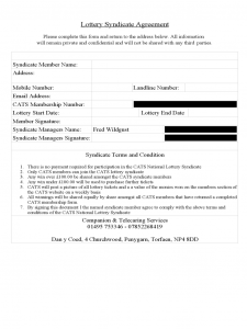 personal balance sheet template lottery syndicate agreement form with contract d