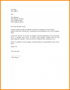 personal budget example resignation letter format simple sample profesional basic resignation letter well wording receiving accepted by industry and writing companies free downloads