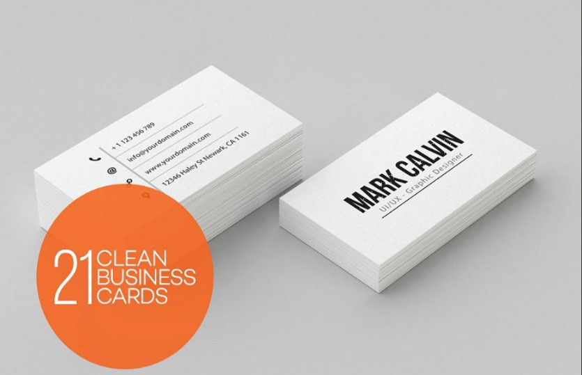 Personal Business Card Template Business - Personal business cards template