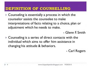 personal develop plan examples guidance and counselling
