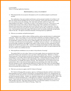 personal goal examples personal goal statement examples professional goal statement examples