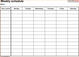 personal income statement template weekly calendar template word schedule template