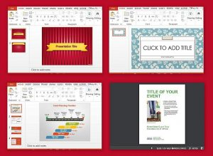 personal letter templates event presentation templates for powerpoint